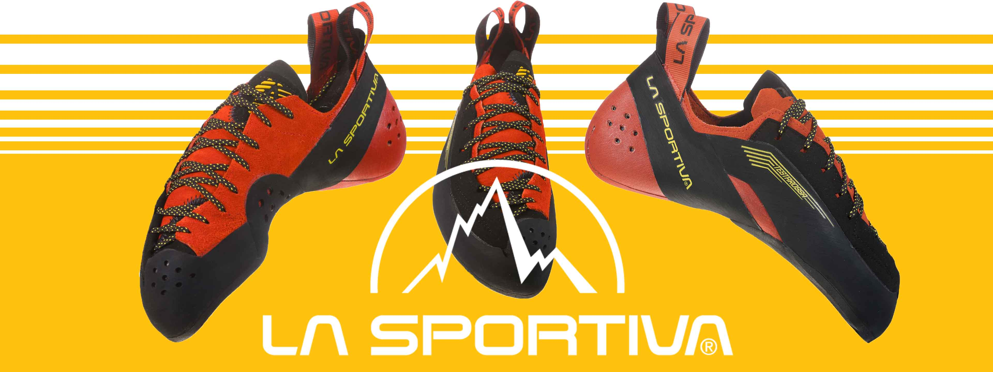 The new La Sportiva Testarossa rock climbing shoe