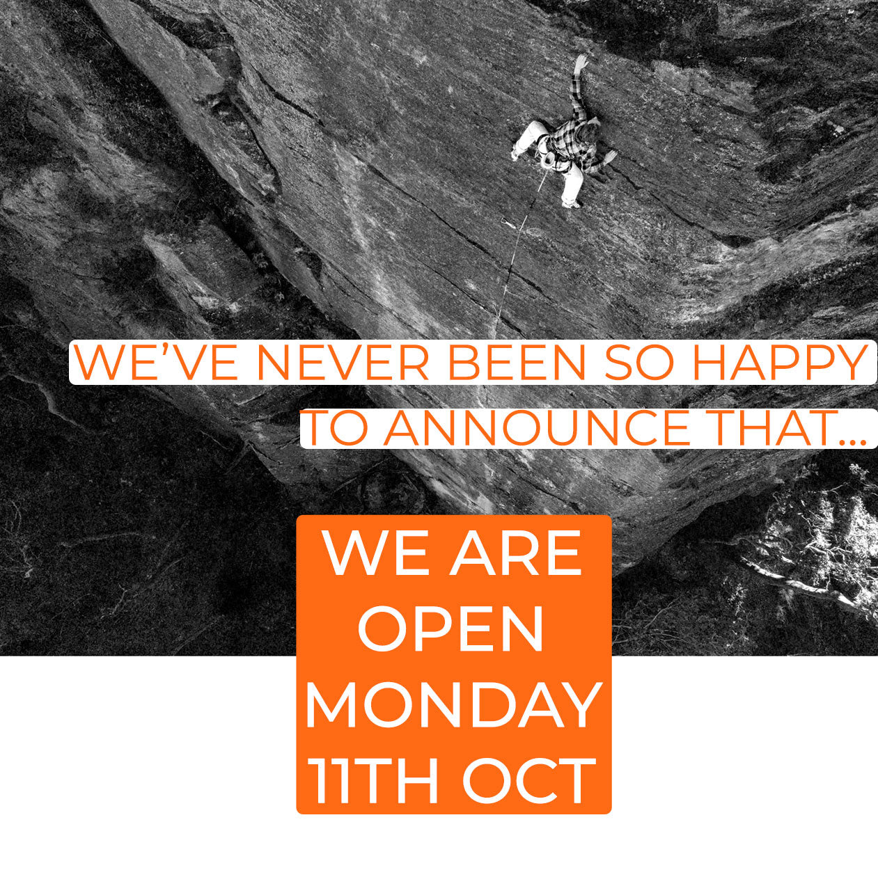 Mountain Equipment Sydney is opening Monday 11th October following new covid lockdowns