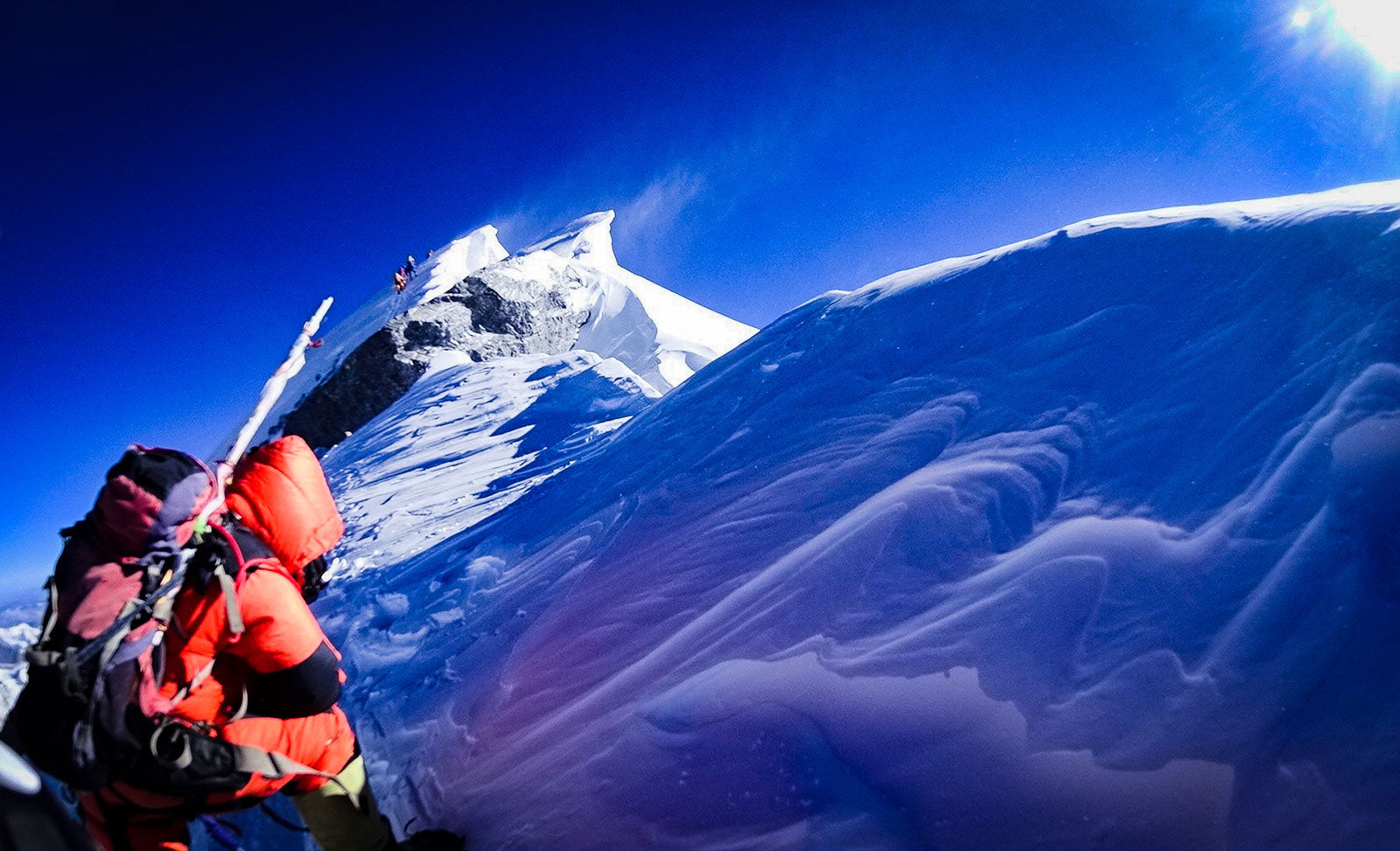 Summit Ridge of Everest, 2018