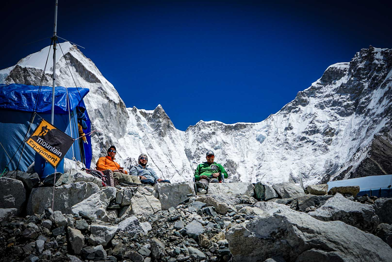 Resting up in Everest Base Camp, 2018