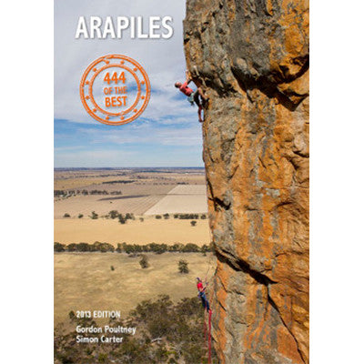 Onsight Photography and Publishing - Arapiles 444 of the Best - Climbing Guide
