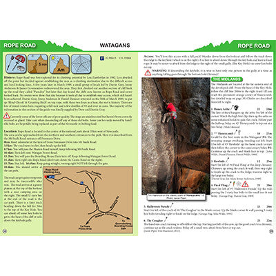 Newcastle & Hunter Rock Climbing Guide - 2nd Edition