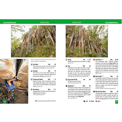 Frog Buttress Climbing - Rock Climbing Guide Book