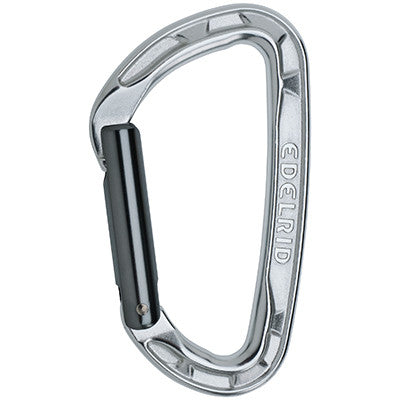 Edelrid - Pure Straight Gate Carabiner - Climbing Hardware
