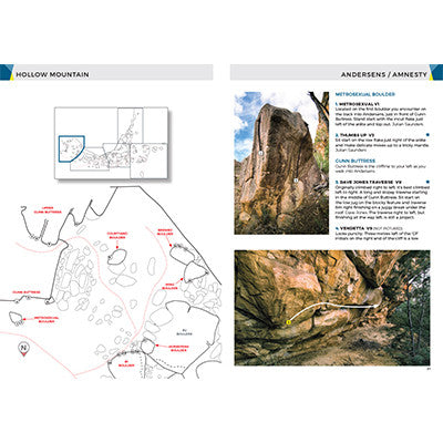 Grampians Bouldering Guide Book - 2016 Edition