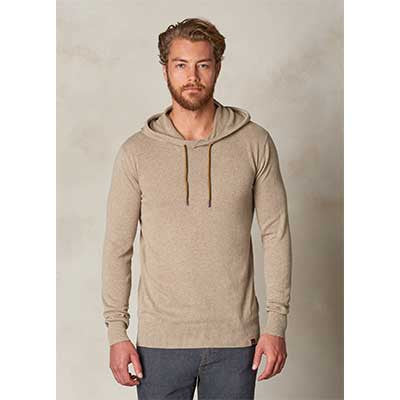 Throw-On Hooded Sweater