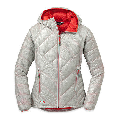 Filament Hooded Down Jacket