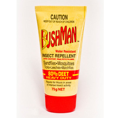 Bushmans - Insect Repellant Gel - 80% DEET
