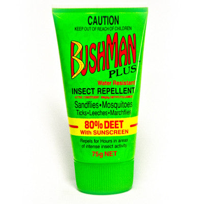 Bushmans - Gel Plus 80 Deet with Sunscreen