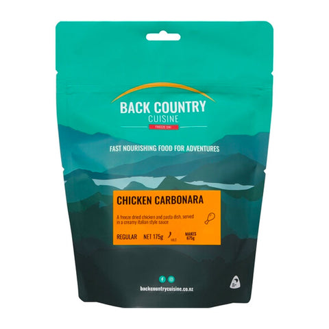 BACK COUNTRY - Chicken Carbonara