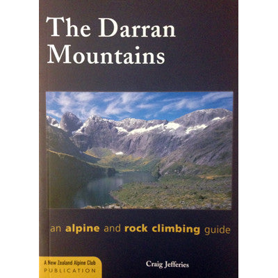 Books - The Darran Mountains - Rock & Alpine Climbing Guide Book