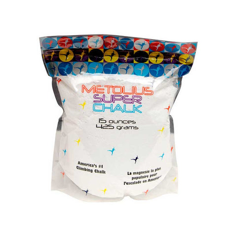 Metolius - Super Chalk 425g Bag - Rock Climbing Accessories