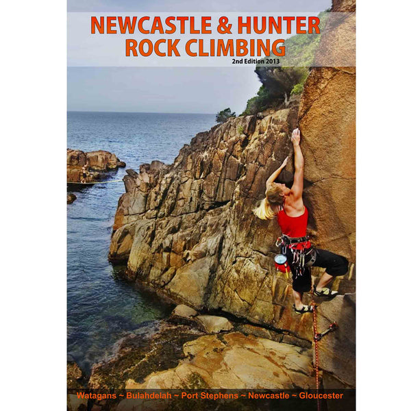 Books - Newcastle & Hunter Rock Climbing Guide - 2nd Edition