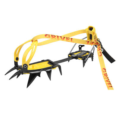 Grivel - G12 New Matic Crampons - Alpine Climbing Hardware