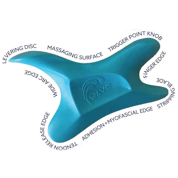 The Wave Tool - All In One IASTM Massage Tool