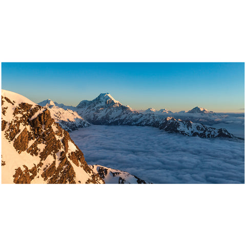 Ben Sanford - Print by Ben Sanford - Aoraki Mount Cook Skyline, New Zealand