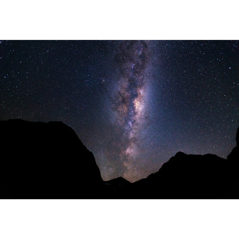 Print by Ben Sanford - Milky Way over the Darrens, New Zealand South Island