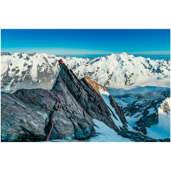 Ben Sanford - Print by Ben Sanford - West Ridge of Malte Brun, Mount Cook National Park