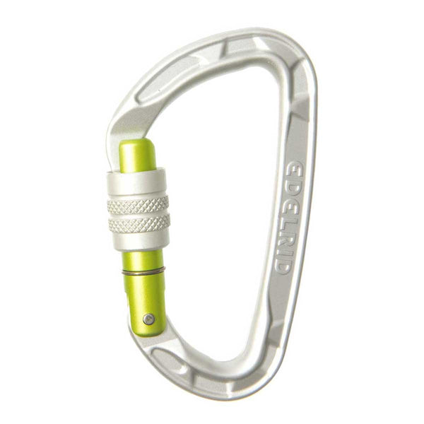 Edelrid - Pure Screw Gate Carabiner - Climbing Hardware