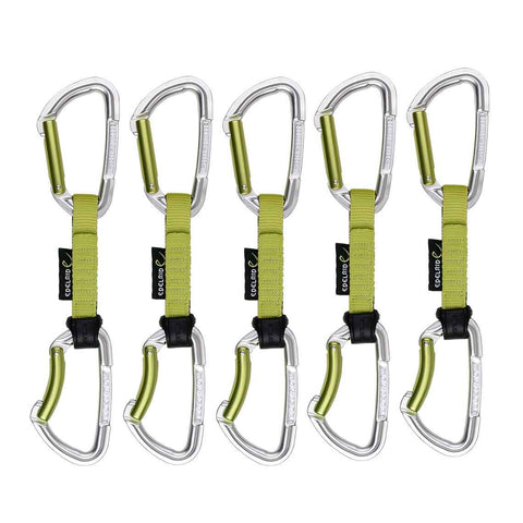 Edelrid - Slash Climbing Quickdraw Set - 10cm (5 Pack)