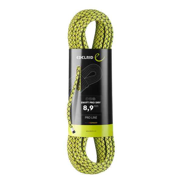 Edelrid - Swift Pro Dry 8.9mm - 60m Climbing Rope