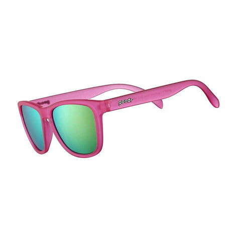 Goodr - The OG Sunglasses - Flamingos on a Booze Cruise