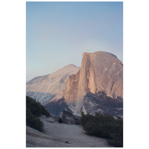 Print by Joey Eaton - Half Dome, Yosemite Valley