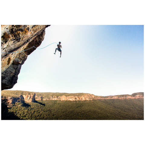 Kamil Sustiak - Print by Kamil Sustiak - Chris Coppard, Air Time at Elphinstone, Blue Mountains