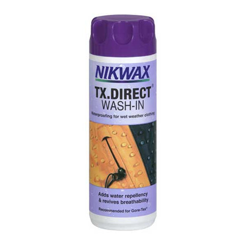 Nikwax - TX. Direct Wash In Proofer - For Waterproof Fabric Garmets