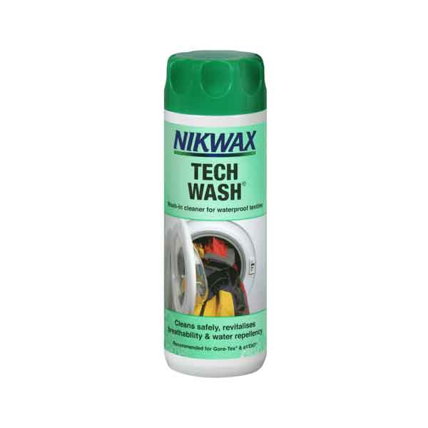 Nikwax - Tech Wash - Technical Waterproof Fabric Cleaner