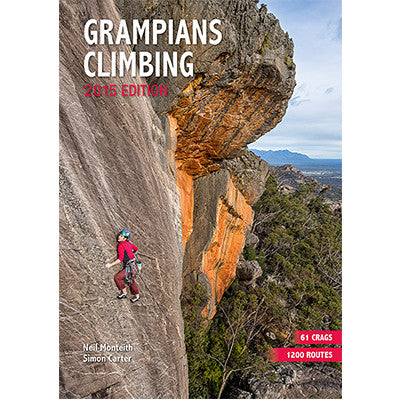 Onsight Photography - Grampians Climbing - 2015 Edition Climbing Guide Book