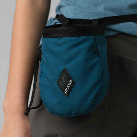 Prana - Chalk Bag With Belt - Rock Climbing Gear