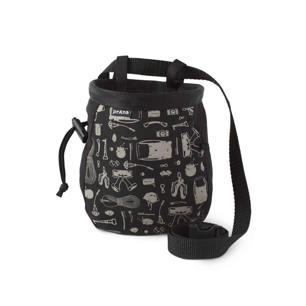 Prana - Graphic Chalk Bag With Belt