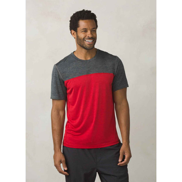 prAna - Hardesty Colorblock Tee - Men's Active Apparel