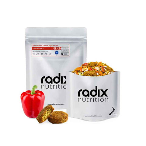 Radix Nutrition - Performance 400kcal Main Meal - Plant-Based - Turkish Style Falafel