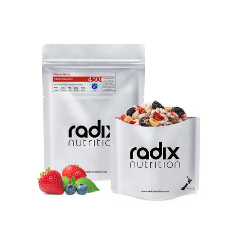 Radix Nutrition - Performance 450kcal Breakfast - Mixed Berry Breakfast