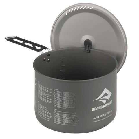 Sea to Summit - Alpha Pot 3.7L - Ultralight Camp Cooking Pot