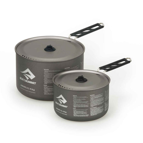 Sea to Summit - Alpha Pot Set 2.0 - Ultralight Camp Cook Set