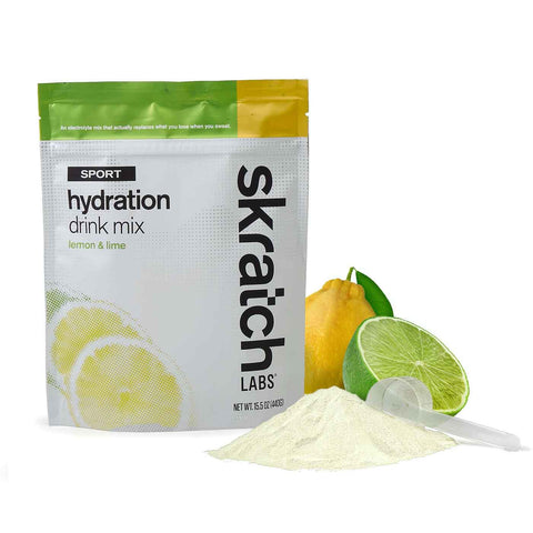 Skratch Labs - Sport Hydration Drink Mix, Lemons and Limes, 20 Serving Resealable Pouch