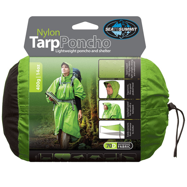 Sea to Summit - Nylon Tarp Poncho