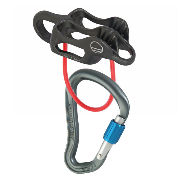 Pro Guide Lite & Ascent HMS Carabiner Belay Set