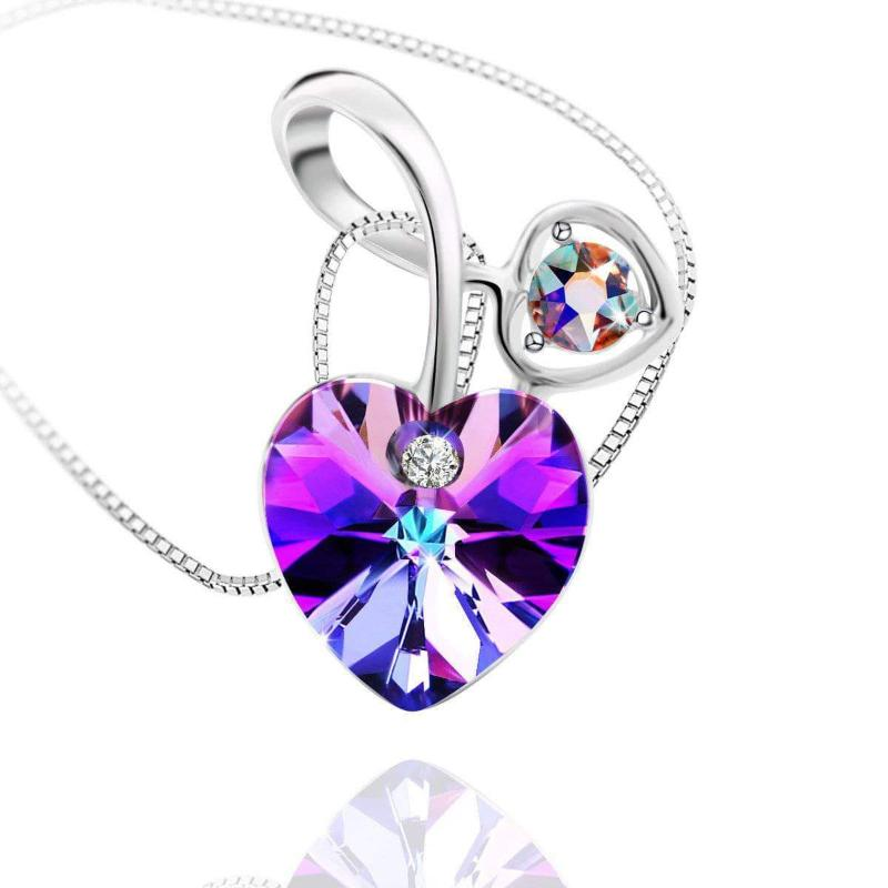 Soul-Mate Necklace Violet Pendant