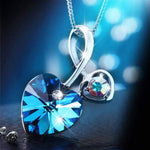 Soul-Mate Blue Necklace