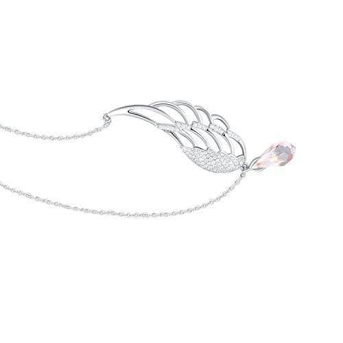 Guardian Angel Wing Drop Pendant Necklace For Her