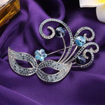 Venice Bauta Brooch For Her