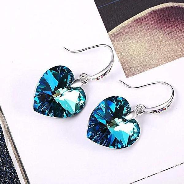"""Forever Love"" Heart Shape Stud Earring"