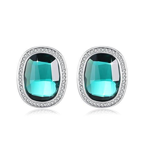 Stud Earrings Blue