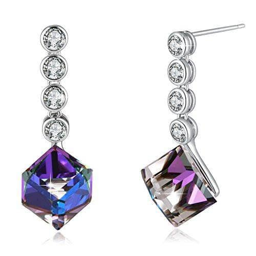 Change Color Earrings Purple