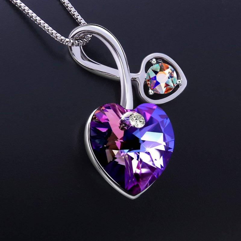 Soul-Mate Necklace Violet Gift