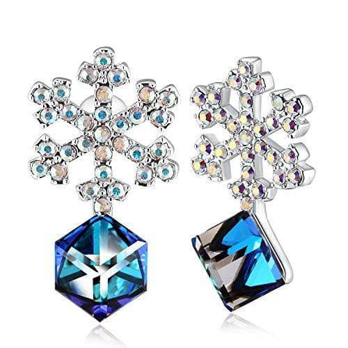 Snowflake Cubic Earrings